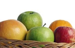 Fruta em um vaso Fotografia de Stock