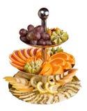 Fruta em um vaso foto de stock