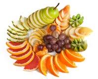 Fruta em um vaso fotos de stock royalty free