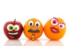 Fruta engraçada Fotografia de Stock