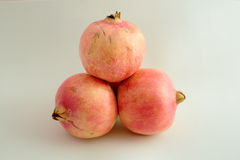 Fruta entera Granada Imagenes de archivo