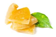 Fruta escarchada Imágenes de archivo libres de regalías