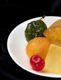 Fruta esmaltada Imagen de archivo libre de regalías