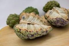 Fruta exótica de Biriba Foto de archivo libre de regalías