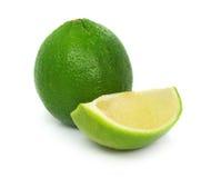 Fruta exótica de la cal verde Imágenes de archivo libres de regalías