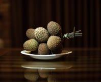 Fruta exótica - Longan Imagenes de archivo