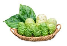 Fruta exótica - Noni Foto de Stock