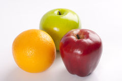 Fruta falsificada Fotos de Stock