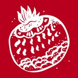 Fruta fantástica Ejemplo gráfico Fotografía de archivo