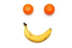 Fruta feliz Imagen de archivo