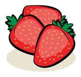 Fruta, fresas Fotos de archivo