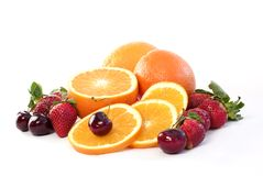 Fruta fresca clasificada Imagen de archivo