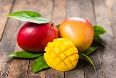 Fruta fresca da manga Fotos de Stock