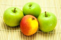 Fruta fresca de Apple Foto de archivo libre de regalías