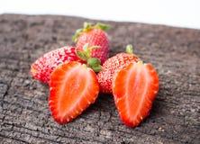 Fruta fresca de la fresa Fotos de archivo libres de regalías