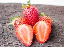 Fruta fresca de la fresa Foto de archivo libre de regalías