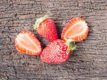 Fruta fresca de la fresa Fotografía de archivo libre de regalías