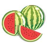 Fruta fresca de la sandía Fotografía de archivo