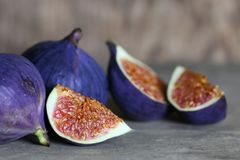 Fruta fresca del higo Imágenes de archivo libres de regalías