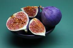 Fruta fresca del higo Imagen de archivo libre de regalías