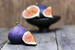 Fruta fresca del higo Fotos de archivo