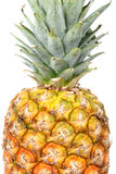 Fruta fresca del verano, textura sana de la piña Fotos de archivo