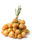 Fruta fresca del wampee fotografía de archivo libre de regalías