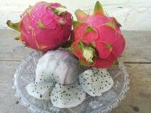 Fruta fresca dulce del dragón del este de Tailandia Fotos de archivo libres de regalías