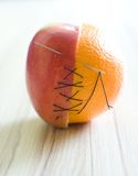 Fruta híbrida Foto de archivo