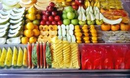 Fruta-haga compras Foto de archivo libre de regalías
