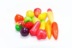 Fruta-imitado revestido con la jalea Fotografía de archivo libre de regalías