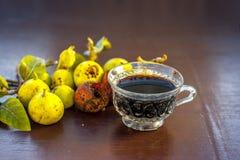 Fruta india del racimo con su té beneficioso fotografía de archivo libre de regalías