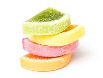 Fruta Jelly Top Group Isolated Foto de archivo libre de regalías