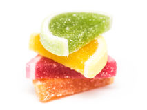 Fruta Jelly Top Group Isolated Imagenes de archivo