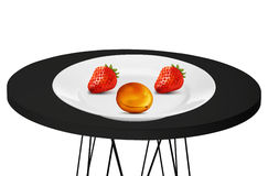 Fruta jugosa ilustración del vector