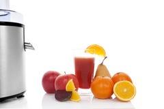 Fruta juicing. imagen de archivo