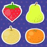 Fruta linda collection02 Fotos de archivo libres de regalías