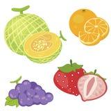 Fruta linda collection02 Imágenes de archivo libres de regalías