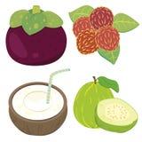 Fruta linda collection03 Foto de archivo