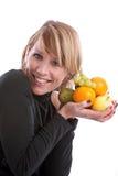 Fruta Loving foto de stock