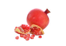 Fruta madura da romã Foto de Stock