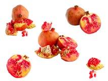 Fruta madura de la granada fotos de archivo