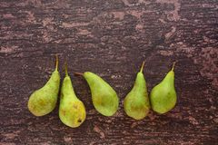 Fruta madura de la pera Foto de archivo