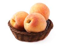 Fruta madura del melocotón Fotografía de archivo