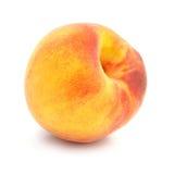 Fruta madura del melocotón aislada fotografía de archivo libre de regalías