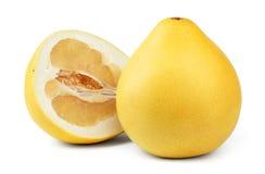 Fruta madura del pomelo foto de archivo
