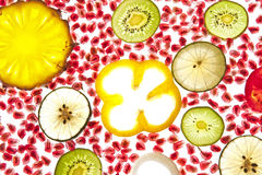 Fruta mezclada Foto de archivo libre de regalías