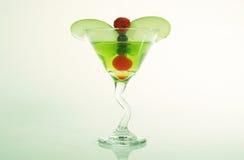 Fruta mezclada Martini Fotografía de archivo