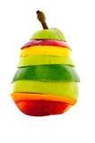 Fruta misturada da pera Foto de Stock Royalty Free