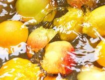 Fruta molhada Imagem de Stock Royalty Free